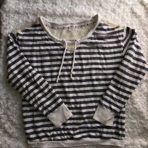 Roxy Striped Sweater Size S